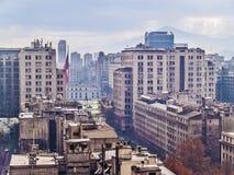 Santiago im Stadtzentrum gelegen Lizenzfreie Stockbilder