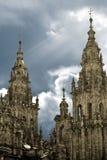 Santiago-Kathedrale Lizenzfreies Stockbild