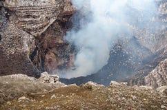 Santiago krater wulkan Masaya w Nikaragua Zdjęcie Royalty Free