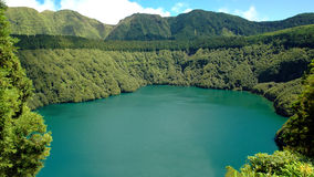Santiago Lagoon, in Sao Miguel, Azores Stock Images