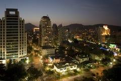 Santiago - le Chili Images libres de droits