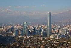 Santiago moderne Images stock