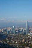 Santiago moderne Photos libres de droits