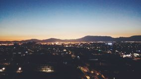 Santiago city stock photography