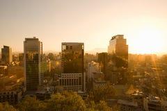 Santiago, o Chile Imagem de Stock