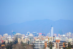 Santiago o Chile fotografia de stock royalty free
