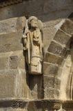 Santiago pielgrzym, kościół Santa Marta De Tera, Zamora Zdjęcia Royalty Free