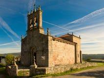 Santiago romańszczyzna kościół de Taboada Fotografia Royalty Free