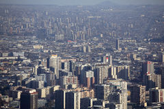 Santiago ` s de stad in Royalty-vrije Stock Fotografie