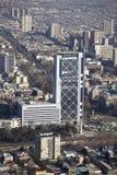 Santiago ` s de stad in Stock Afbeeldingen