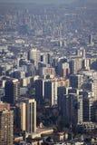 Santiago ` s de stad in Royalty-vrije Stock Foto's