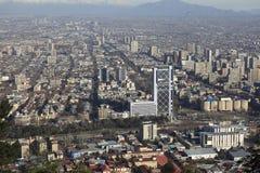 Santiago ` s de stad in Royalty-vrije Stock Afbeelding