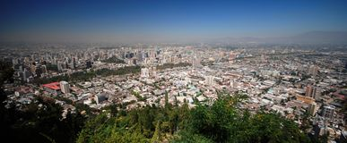 Santiago Skyline Stock Images