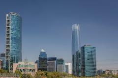 Santiago Skyline Royalty Free Stock Image