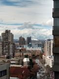 Santiago skyline Royalty Free Stock Photo