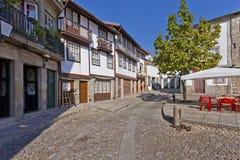Santiago Square, Guimaraes, Portugal Imagens de Stock