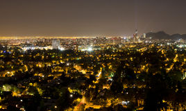 Santiago-Stadtbild Lizenzfreie Stockfotografie