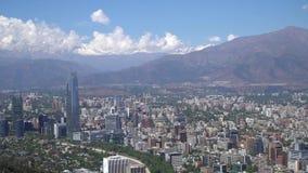 Santiago tun Chile stock footage