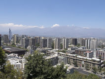 Santiago tun Chile Lizenzfreies Stockbild