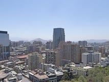 Santiago tun Chile Stockbild