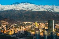 Santiago tun Chile stockbilder