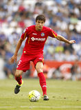 Santiago Vergini of Getafe CF Stock Photo