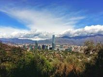 Santiago von Chile stockfotos