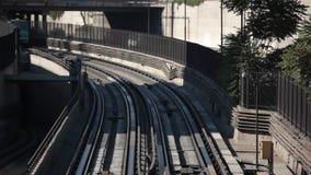 Santiago von Chile-U-Bahn stock video footage