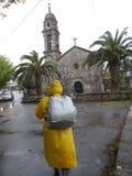 Santiago-weg vallfärdar royaltyfri bild
