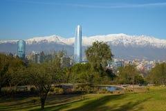 Santiago in Winter Stock Images