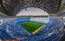 SantiagoBernabéu stadion Madrid Arkivbilder