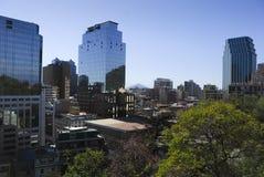 Santiagode Chile Lizenzfreie Stockfotos
