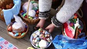 Santificazione dei dolci e delle uova di pasqua