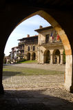 Santillana Del Mar Stockbild