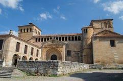 Santillana Del Mar, iglesia vieja Fotografía de archivo libre de regalías