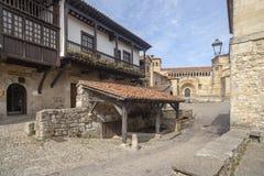 Santillana Del Mar, Kantabrien, Spanien lizenzfreies stockbild