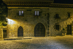 Santillana Del Mar. Santander. Cantabria. Spain stock images