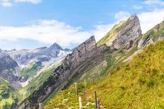Santis and Alpstein massif Stock Image