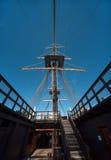 Santisima特立尼达在阿利坎特港口  库存照片