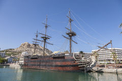 Santisima Trinidad in Alicante Harbour Stock Images