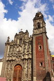 Santisima trinidad church Royalty Free Stock Photos