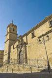 Santisima Trinidad church facade at Ubeda. Stock Photo