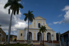 Santisima Trinidad Church, Trinidad, Cuba Royalty Free Stock Image
