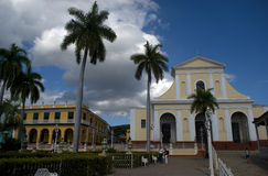 Santisima Trinidad Church, Trinidad, Cuba Royalty Free Stock Images