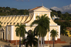 Santisima Trinidad Church, Trinidad, Cuba Royalty Free Stock Photo