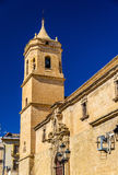 Santisima Trinidad Church in Ubeda - Spain Royalty Free Stock Images