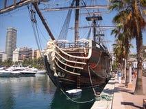 Santisima Trinidad le plus grand navire de guerre au monde images stock
