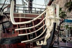 Santisima Trinidad ship. Spain Stock Image