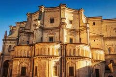 Santissima安农齐亚塔教会在帕尔马,伊米莉亚罗马甘,意大利 免版税库存照片
