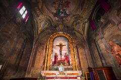 Santissima Annuziata church, Florence, Italy Stock Images